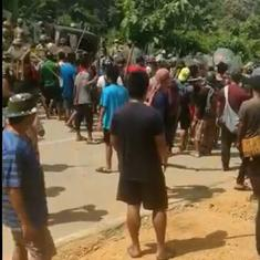 Five Assam police officers killed as border dispute with Mizoram escalates
