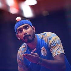Tokyo 2020, table tennis: Sharath Kamal goes down fighting against reigning champion Ma Long