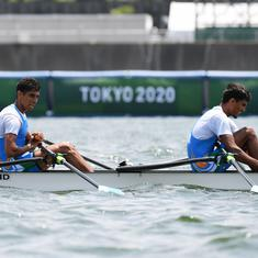 Tokyo 2020, rowing: India's Arjun Lal Jat and Arvind Singh finish 11th in lightweight double sculls