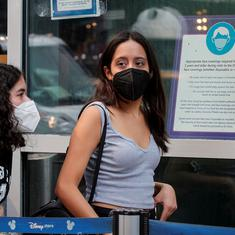 Vaccinated people in high-risk areas should resume wearing masks indoors, says top US health body