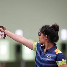 Tokyo 2020, shooting: Manu Bhaker placed 5th, Rahi Sarnobat 25th in 25m pistol first qualification