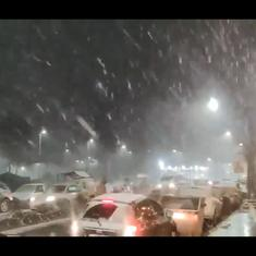 Watch: Rare spell of intense snowfall strikes southern Brazil for the first time in decades