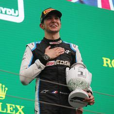 Formula One: Esteban Ocon wins chaotic Hungarian GP, Lewis Hamilton takes championship lead