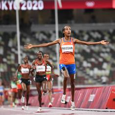 Tokyo 2020, athletics: 'Scared' Sifan Hassan wins 5,000m, takes first step in treble gold bid