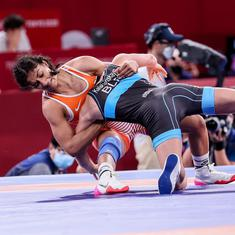 On the day India won two Olympic medals, a second Olympic heartbreak for Vinesh Phogat