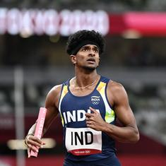 Tokyo 2020: Watch - Indian men's 4x400m relay team sets Asian record with superb run