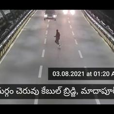 Watch: Hyderabad traffic police video captures man dancing in the middle of busy street