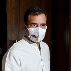 Defamation case against Rahul Gandhi: Bombay HC dismisses RSS worker's petition on speech transcript