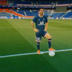 Watch: Lionel Messi confirmed as PSG player, to wear jersey No 30