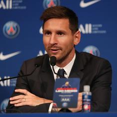 Dream is to win Champions League and I'm in the ideal place to do it, says PSG's Lionel Messi