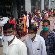 Covid-19: India reports 41,195 cases in past 24 hours, vaccine shortage halts inoculation in Mumbai