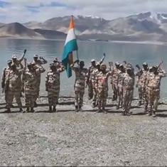 Watch: How the armed forces observed India's 75th Independence Day