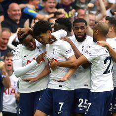 Premier League: Kane-less Tottenham down defending champions Manchester City 1-0 in season-opener