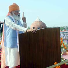 Modi repeats same Rs 100 lakh crore infrastructure plan in three I-Day speeches in a row