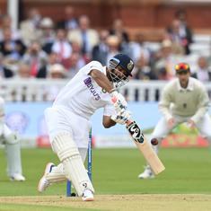 England vs India: 'It was a team decision' – Pant backs Kohli for opting to bat first in third Test