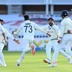Watch: When Mohammed Siraj dismissed James Anderson to take India to a famous win at Lord's