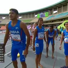 World U20 Athletics C'ships, Day 1: India in mixed 4x400m relay final, men's javelin qualification