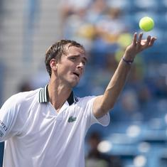 'Came here prepared': US Open champion Daniil Medvedev sets his sights on Indian Wells title