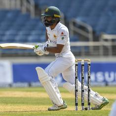Fawad's ton, Shaheen's new-ball strikes give Pakistan hope of levelling Test series in West Indies
