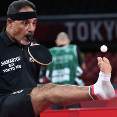 Tokyo Paralympics, table tennis: Meet Ibrahim Hamadtou, the Egyptian who plays with his mouth
