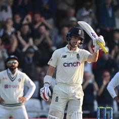 Third Test, day one: Burns, Hameed put on unbroken stand after Anderson and Co bowl out India for 78