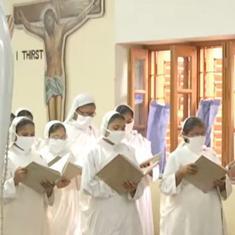 Watch: Prayers offered in Kolkata on Saint Teresa's 111th birth anniversary