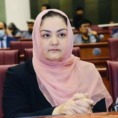 India apologises for deporting Afghan MP, offers her emergency visa