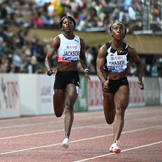 Watch: Fraser-Pryce trumps Thompson-Herah at Lausanne DL with third fastest ever women's 100m time