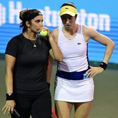 Indian tennis: Sania Mirza and Christina McHale sail into doubles final at Cleveland