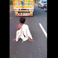 Adivasi man dies after being beaten up, dragged by a truck in Madhya Pradesh