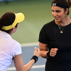 Indian tennis: Sania Mirza and Christina McHale lose in the final at Cleveland