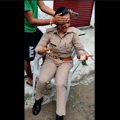 Watch: Woman police constable grievously injured after attack by male harasser in Lucknow
