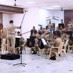 Watch: Mumbai Police Band's Khaki Studio plays composer AR Rahman's popular song 'Jai Ho'