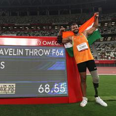 Three world records in six attempts: Reactions to javelin thrower Sumit Antil's Paralympics gold