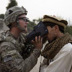 Cautionary tale: The Taliban could get access to Afghans' biometric data collected by the US