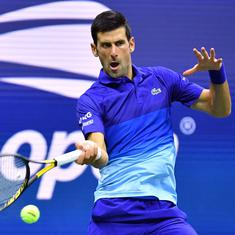 US Open, day 2 men's wrap: Djokovic starts record quest with four-set win, Carreno Busta knocked out
