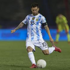 World Cup qualifiers: Lionel Messi rusty in Argentina win, Brazil maintain perfect record