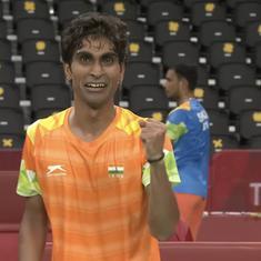 Tokyo Paralympics, badminton: Pramod Bhagat wins gold, Manoj Sarkar claims bronze in singles SL3