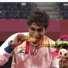 Watch: Pramod Bhagat's winning moment and medal ceremony at Tokyo Paralympics 2020