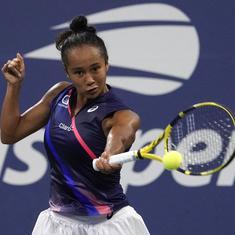 US Open: Fernandez backs Osaka win by beating Kerber; qualifier Van de Zandschulp reaches quarters