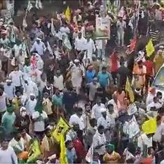 Haryana: Farmers protest outside Karnal's mini-secretariat, demand action for baton-charge