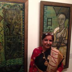 Renowned artist Rini Dhumal dies at 73 in Vadodara