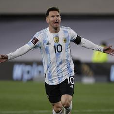 World Cup qualifiers: Messi breaks Pele record as Argentina thump Bolivia; Brazil ease past Peru