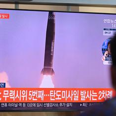 North and South Korea test their ballistic missiles within a span of few hours