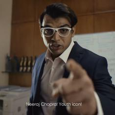Watch: Neeraj Chopra throws it out of the park in latest CRED advertisement