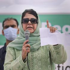 BJP will talk about Taliban, Afghanistan to garner votes, says Mehbooba Mufti