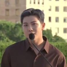Watch: What BTS leader and rapper RM said during his visit to the Met Museum in New York City