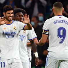La Liga: Asensio scores hat-trick, Benzema shines as Real Madrid trounce Mallorca to lead table