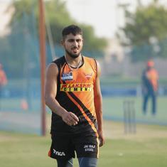 IPL 2021: SRH sign medium-pacer Umran Malik as short-term Covid-19 replacement for T Natarajan