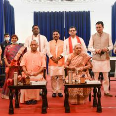 Adityanath expands UP Cabinet ahead of Assembly polls next year